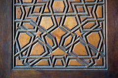 Arte turca dell'ottomano con i modelli geometrici Immagini Stock