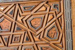 Arte turca do otomano com testes padrões geométricos Fotos de Stock Royalty Free