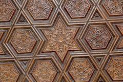 Arte turca do otomano com testes padrões geométricos Foto de Stock