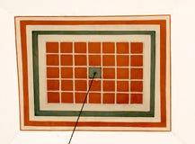 Arte turca do otomano com testes padrões geométricos Fotos de Stock