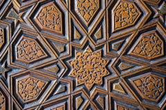 Arte turca do otomano com testes padrões geométricos Imagens de Stock Royalty Free