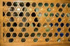 Arte turco del otomano con los modelos geométricos Fotografía de archivo
