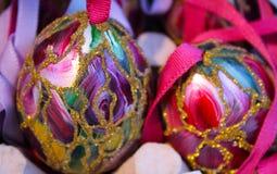 arte unica del fiore dell'uovo di Pasqua Fotografie Stock