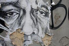 Arte in upis del ¾ di UÅ, Vilnius della via Fotografie Stock