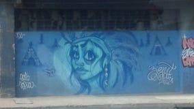 Arte urbana imagem de stock royalty free