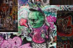 Arte urbana Imagens de Stock