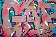 Arte urbana Fotografie Stock Libere da Diritti