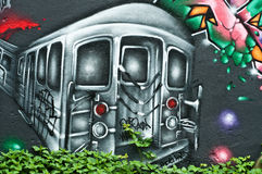 Arte urbana Foto de Stock Royalty Free