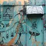 Arte urbana Immagine Stock Libera da Diritti