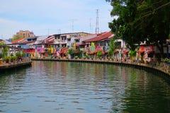 Arte urbana da rua de Malacca fotos de stock royalty free