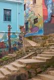 Arte urbana de Valparaiso Imagem de Stock