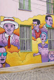 Arte urbana de Valparaiso Foto de Stock Royalty Free