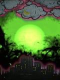 Arte urbana dei graffiti Fotografia Stock Libera da Diritti