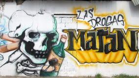 Arte urbana na Venezuela oriental Foto de Stock