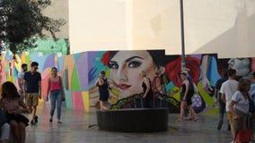 Arte urbano andaluz fotografía de archivo libre de regalías