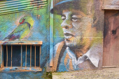 Arte urbano de Valparaiso Imagenes de archivo