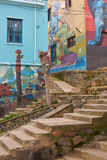 Arte urbano de Valparaiso Imagen de archivo