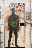Arte Ushuaia del centro della via Immagine Stock Libera da Diritti