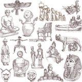 Arte velha 2 ilustração royalty free