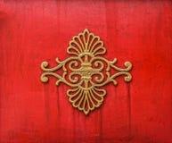 A arte velha do projeto oriental do chinês Fotos de Stock Royalty Free