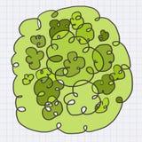 Arte verde Fotografía de archivo