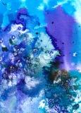 Arte - Watercolour en el papel Fotografía de archivo