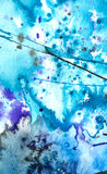 Arte - Watercolour su documento royalty illustrazione gratis