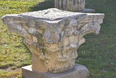 Artefact av romerskt forum Arkivfoton