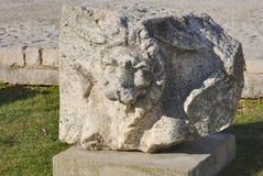 Artefact of Roman forum Royalty Free Stock Photos