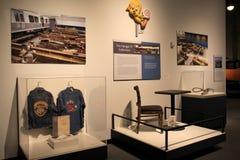 Artefacten van 11 de verschrikkingsaanvallen van September, het Museum van de Staat, Albany, New York, 2016 Royalty-vrije Stock Fotografie