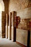 Artefactos en una iglesia imagen de archivo libre de regalías