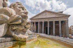 Artefakte in Rom, Italien Stockbild