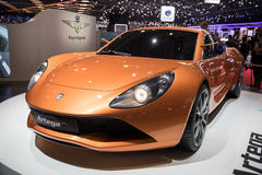 Artega Scalo Superelletra electric sports car Royalty Free Stock Photo