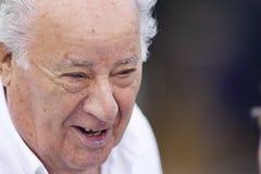 Portrait of Amancio Ortega Gaona ,founder of Inditex Zara empire