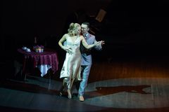 Artem Mayorov και Julia Osina Στοκ Εικόνα