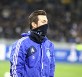 Artem Milevskiy of Dynamo Kyiv Stock Photography