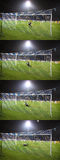 Artem Milevskiy of Dynamo Kyiv misses the penalty Stock Photo
