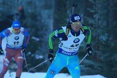 Artem Pryma - biathlon Royalty-vrije Stock Fotografie