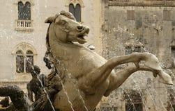 Artemide fountain. Syracuse Stock Photography