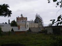 Artemievo-Vercolsky kloster Ortodox relik Fotografering för Bildbyråer