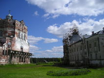 Artemievo-Vercolsky kloster Ortodox relik Arkivbilder