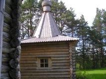 Artemievo-Vercolsky kloster Ortodox relik Arkivfoto