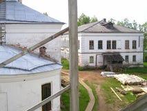 Artemievo-Vercolsky kloster Ortodox relik Royaltyfri Foto