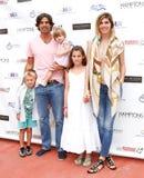 Artemio Figueras, Nacho Figueras, Alba Figueras, Aurora Figueras, Delfina Blaquier Royalty Free Stock Photos