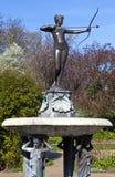 Artemis喷泉在海德公园 免版税库存照片