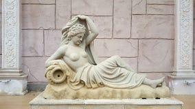 Artemis雕象 免版税库存照片