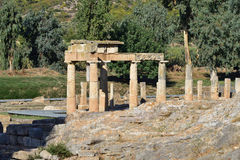 Artemis του ναού Vravrona, Ελλάδα Στοκ Φωτογραφία