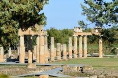 Artemis του ναού Vravrona, Ελλάδα Στοκ εικόνα με δικαίωμα ελεύθερης χρήσης