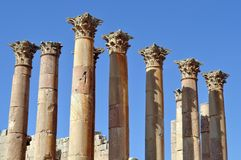 Artemis Columns Royalty Free Stock Images