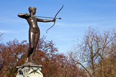 Artemis Fountain in Hyde Park Royalty Free Stock Photos
